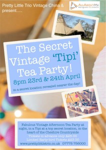 The Secret Vintage `Tipi` Tea Party!