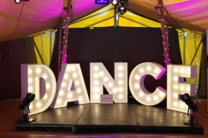 Dance Lights Tipi