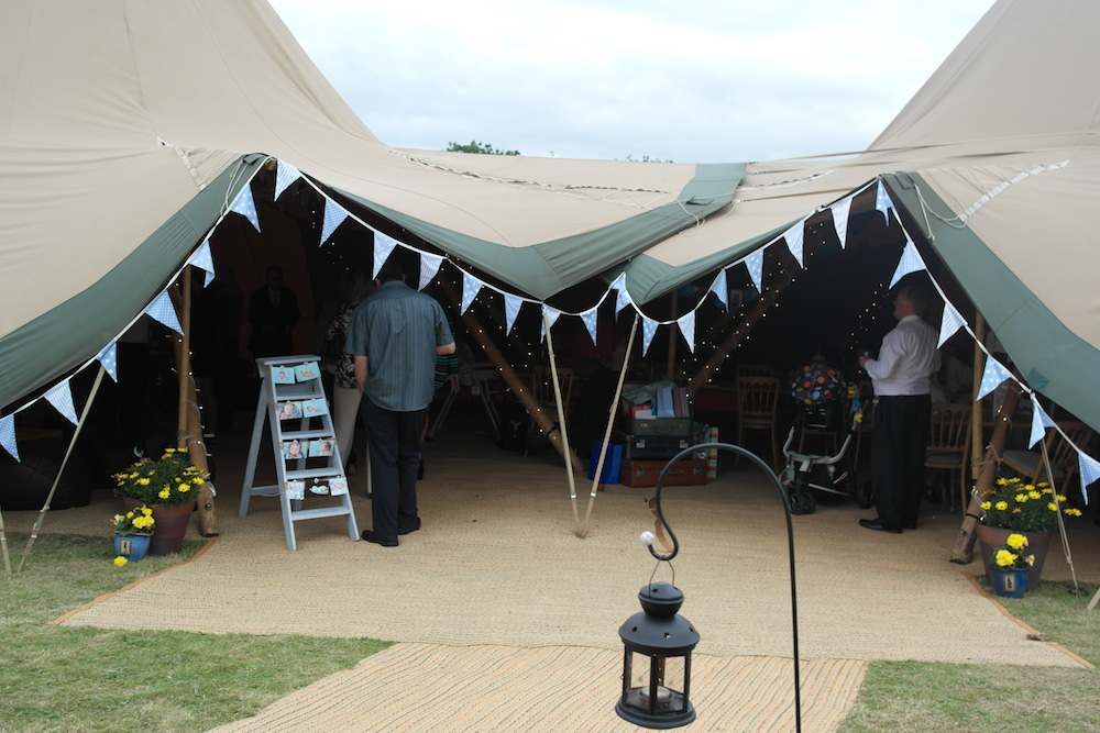 Tipis for Christening